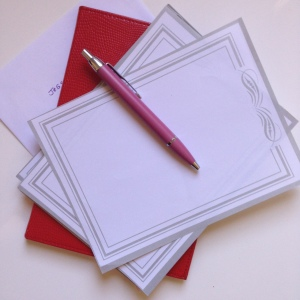 Handwritten letters bring joy at the mailbox!